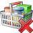 Shopping Basket Delete Icon