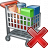 Shopping Cart Delete Icon