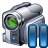 Videocamera Pause Icon