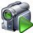 Videocamera Run Icon