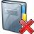 Address Book Delete Icon 48x48