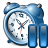 Alarmclock Pause Icon 48x48