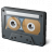 Audio Cassette Icon 48x48