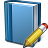 Book Blue Edit Icon 48x48