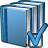 Books Blue Preferences Icon 48x48