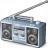 Boombox Icon 48x48