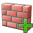 Brickwall Add Icon 48x48