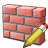 Brickwall Edit Icon 48x48