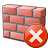 Brickwall Error Icon 48x48