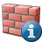 Brickwall Information Icon 48x48