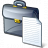 Briefcase Document Icon 48x48