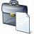 Briefcase Document Icon 48x48