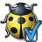 Bug Yellow Preferences Icon 48x48