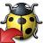 Bug Yellow Reset Icon 48x48