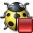 Bug Yellow Stop Icon 48x48