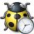 Bug Yellow Time Icon 48x48