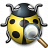 Bug Yellow View Icon 48x48