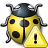Bug Yellow Warning Icon 48x48