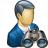 Businessman Find Icon 48x48