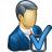 Businessman Preferences Icon 48x48