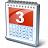 Calendar 3 Icon 48x48