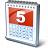 Calendar 5 Icon 48x48