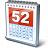 Calendar 52 Icon 48x48