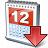 Calendar Down Icon 48x48