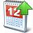 Calendar Up Icon 48x48