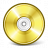 Cd Gold Icon 48x48