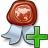 Certificate Add Icon 48x48