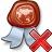 Certificate Delete Icon 48x48