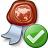 Certificate Ok Icon 48x48
