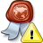 Certificate Warning Icon 48x48