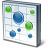 Chart Bubble Icon 48x48