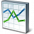 Chart Line Icon 48x48