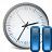 Clock Pause Icon 48x48