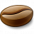 Coffee Bean Icon 48x48
