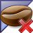 Coffee Bean Enterprise Delete Icon 48x48