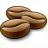 Coffee Beans Icon 48x48