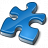 Component Blue Icon 48x48