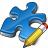 Component Blue Edit Icon 48x48