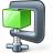 Compress Green Icon 48x48
