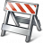 Construction Barrier Icon 48x48