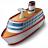 Cruise Ship Icon 48x48