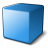 Cube Blue Icon 48x48