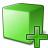 Cube Green Add Icon 48x48