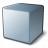 Cube Grey Icon 48x48