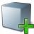 Cube Grey Add Icon 48x48