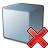 Cube Grey Delete Icon 48x48